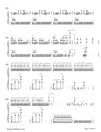 Unravel-Tokyo Ghoul Theme-Numbered-Musical-Notation-Preview-7