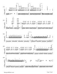 Fallen-PSYCHO-PASS 2 ED両手略譜プレビュー2