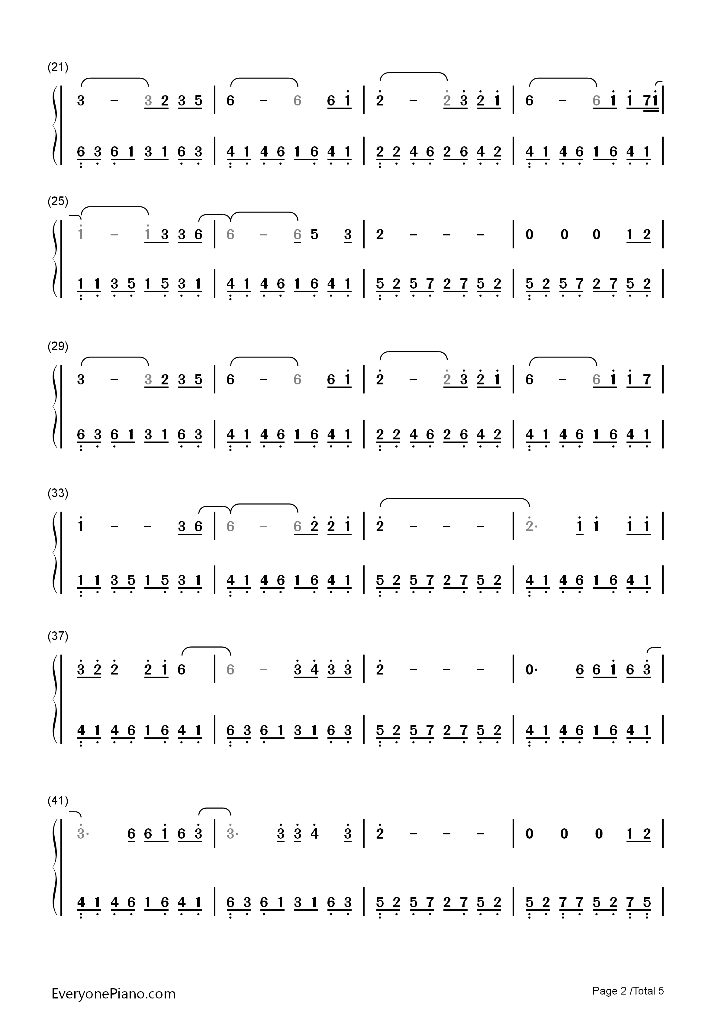 The last goodbye the hobbit ost numbered musical notation preview listen now print sheet the last goodbye the hobbit ost numbered musical notation preview 2 hexwebz Image collections