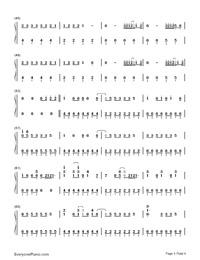 Cool for the Summer-Demi Lovato-Numbered-Musical-Notation-Preview-3