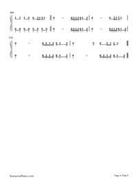 Cool for the Summer-Demi Lovato-Numbered-Musical-Notation-Preview-4