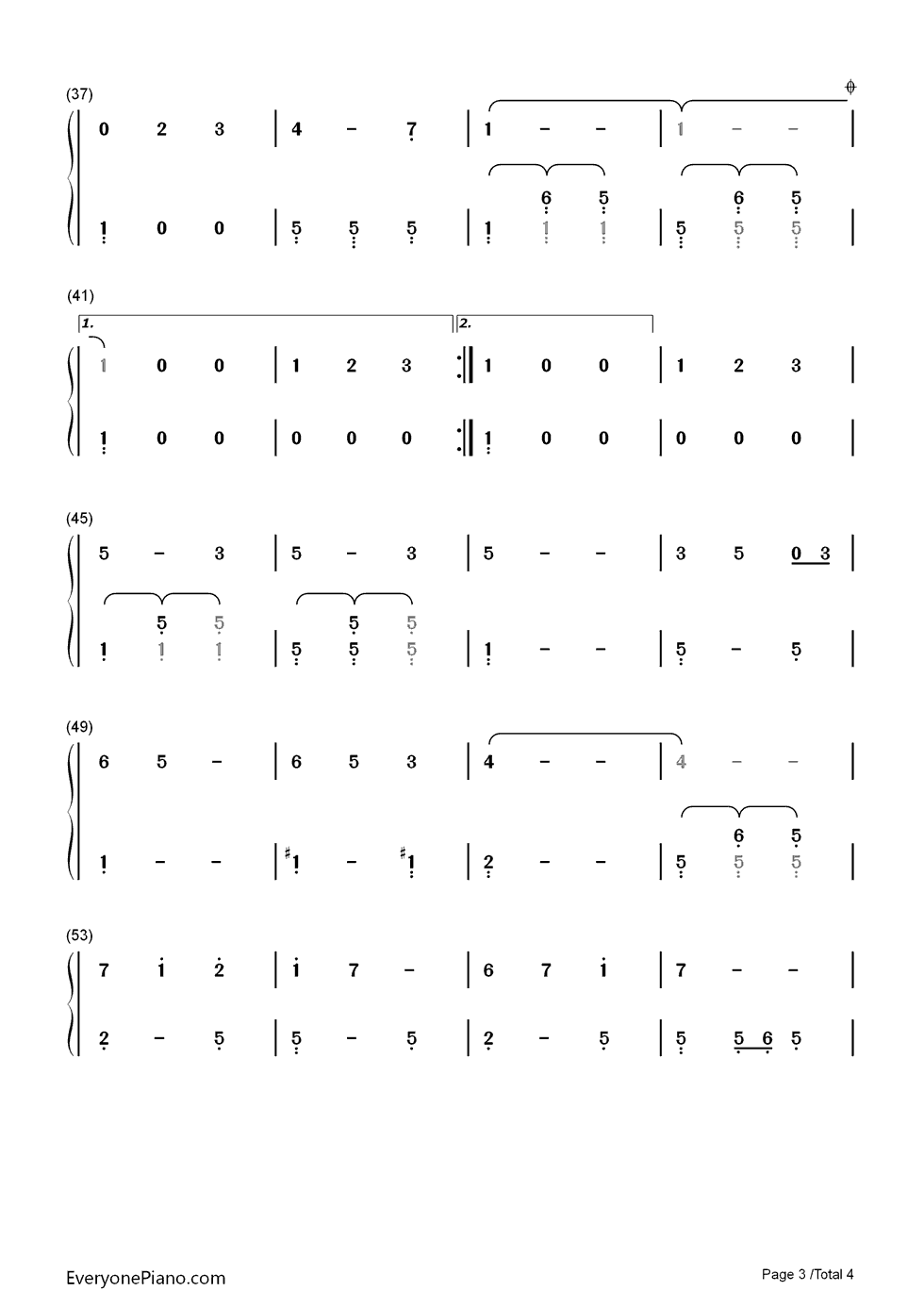 Que sera sera whatever will be will be numbered musical notation listen now print sheet que sera sera whatever will be will be numbered musical notation preview 3 hexwebz Image collections