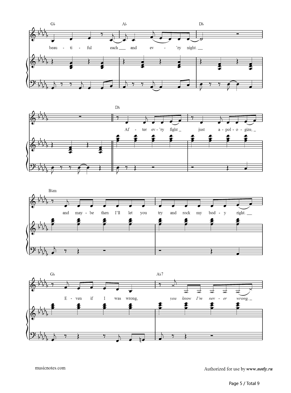 Dear Future Husband-Meghan Trainor Free Piano Sheet Music & Piano Chords