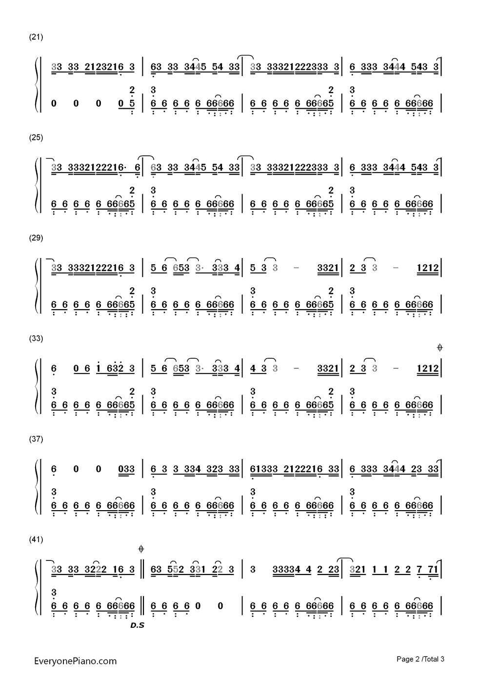 Pon de replay rihanna numbered musical notation preview 2 free listen now print sheet pon de replay rihanna numbered musical notation preview 2 hexwebz Image collections