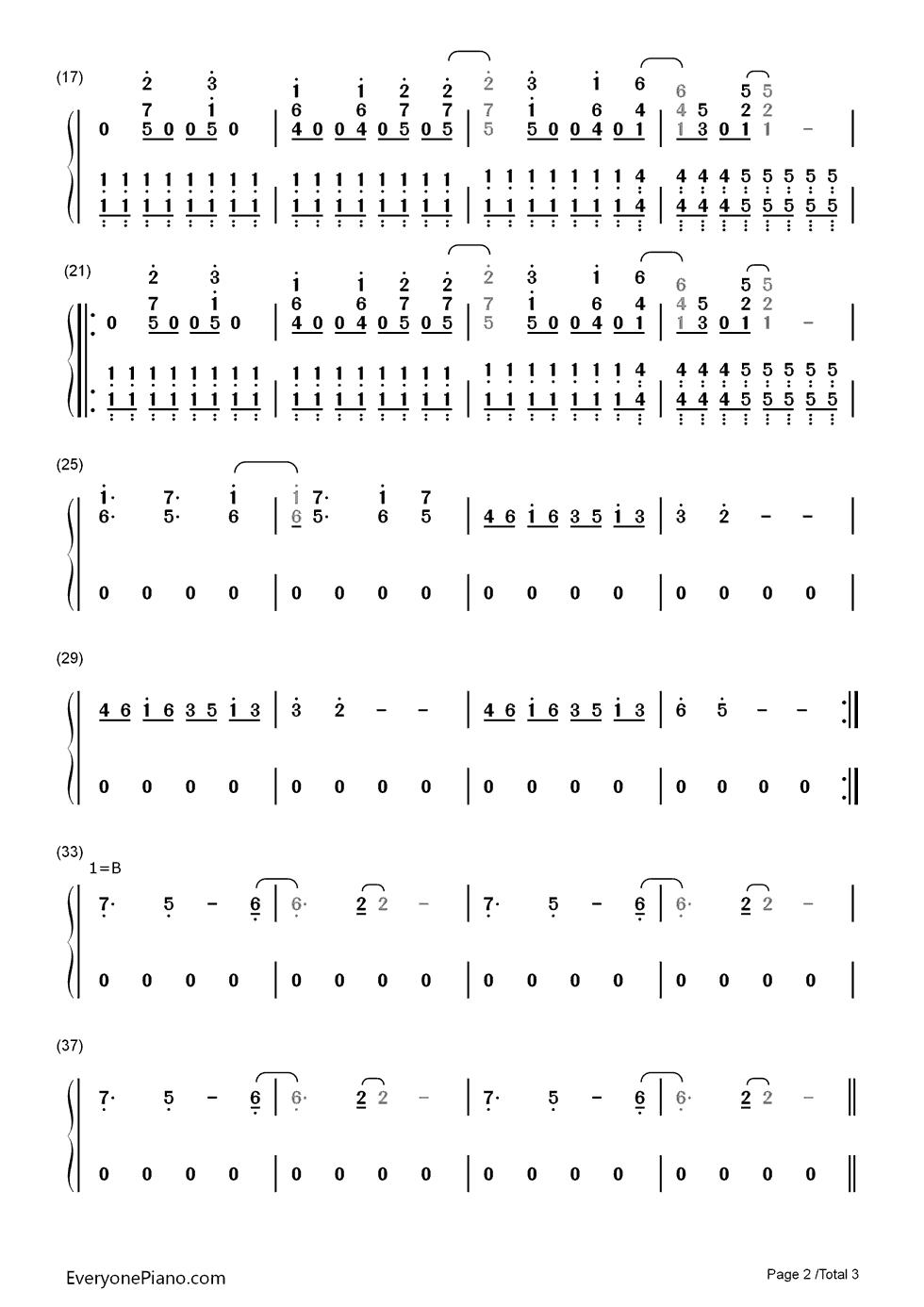 Jump van halen numbered musical notation preview 2 free piano listen now print sheet jump van halen numbered musical notation preview 2 hexwebz Choice Image
