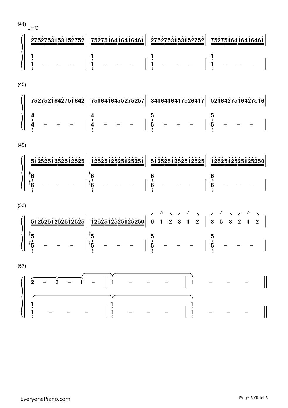 Jump van halen numbered musical notation preview 3 free piano listen now print sheet jump van halen numbered musical notation preview 3 hexwebz Choice Image