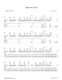 Jump Van Halen Free Piano Sheet Music Piano Chords