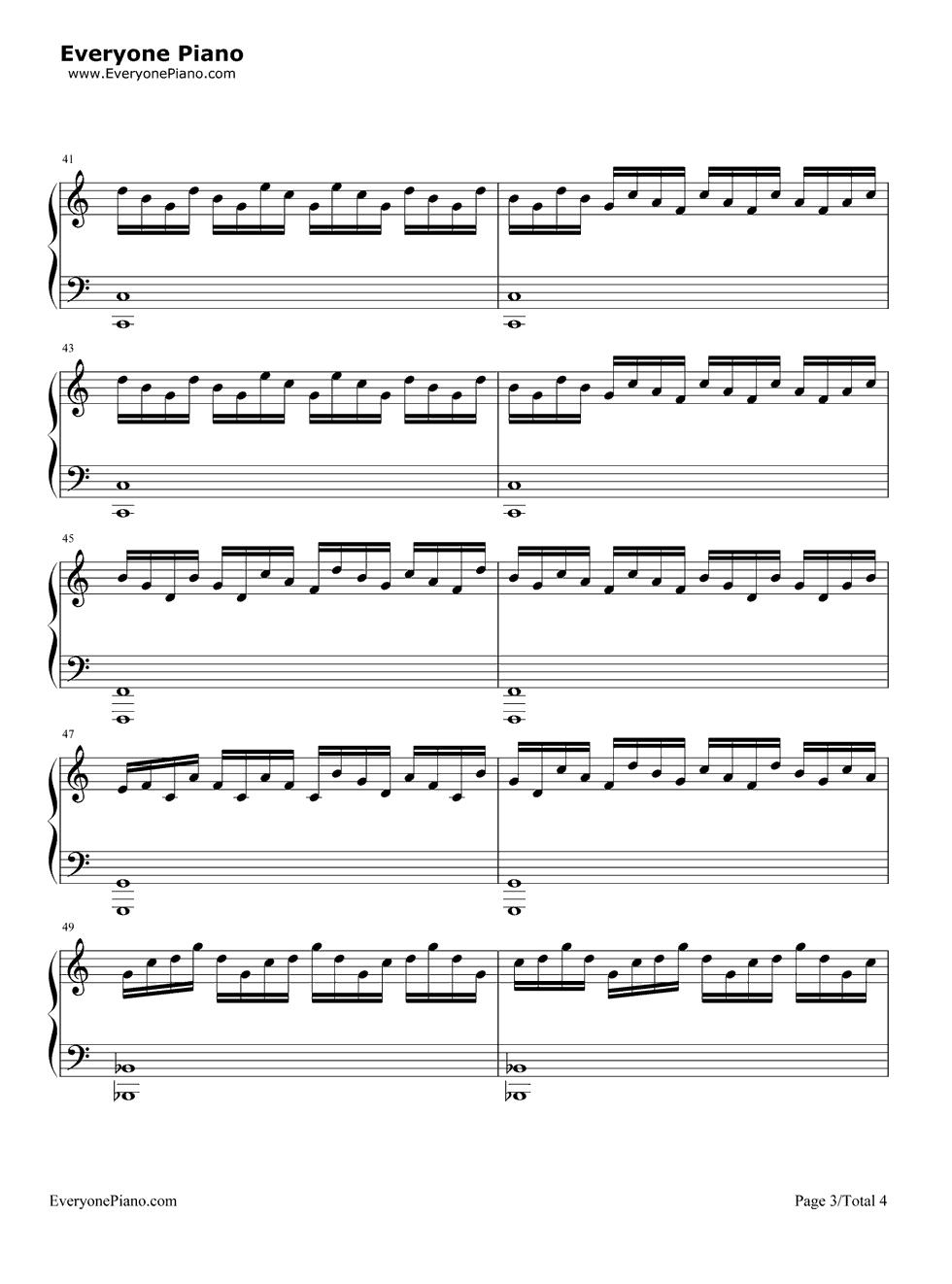 Jump van halen stave preview 3 free piano sheet music piano chords listen now print sheet jump van halen stave preview 3 hexwebz Choice Image