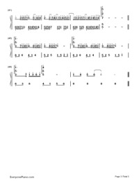 Mirror Night-Reflection (Mirror Night)-Numbered-Musical-Notation-Preview-3