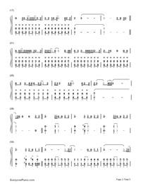Alive-Sia Free Piano Sheet Music & Piano Chords