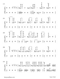 My Lady-EXO-Numbered-Musical-Notation-Preview-2