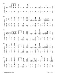 My Lady-EXO-Numbered-Musical-Notation-Preview-5
