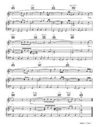O Fly On Coldplay Sheet Music U.F.O.-Coldplay Free P...