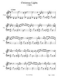 Piano Sheet Music & Piano Chords