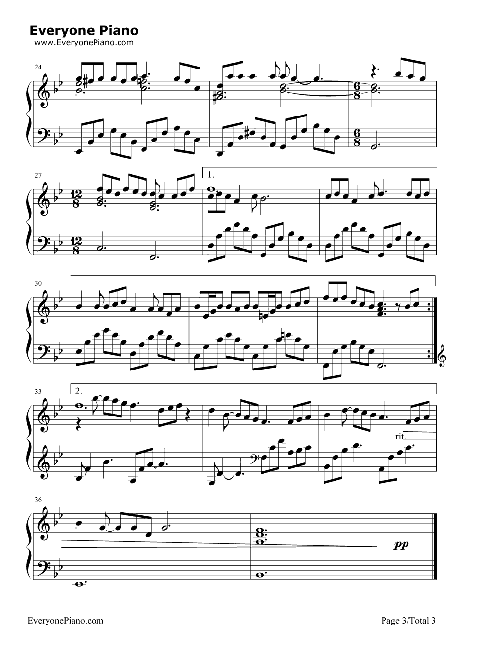 She is love parachute piano sheet music free piano ideas kiss me slowly parachute free piano sheet music chords parachute sammi cheng stave preview 3 free piano sheet music hexwebz Images
