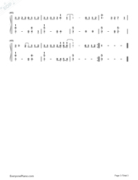 Love Yourself-Justin Bieber-Numbered-Musical-Notation-Preview-3