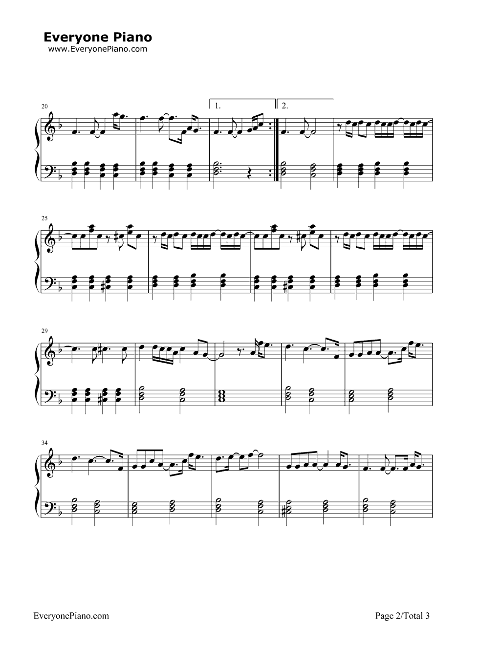 If i could fly one direction stave preview 2 free piano sheet listen now print sheet if i could fly one direction stave preview 2 hexwebz Image collections