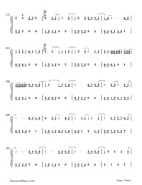Gun lae gun-The Love of Siam OST-Numbered-Musical-Notation-Preview-2