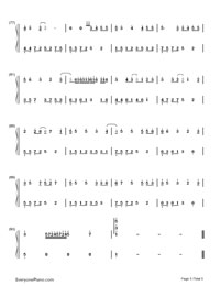 Gun lae gun-The Love of Siam OST-Numbered-Musical-Notation-Preview-5