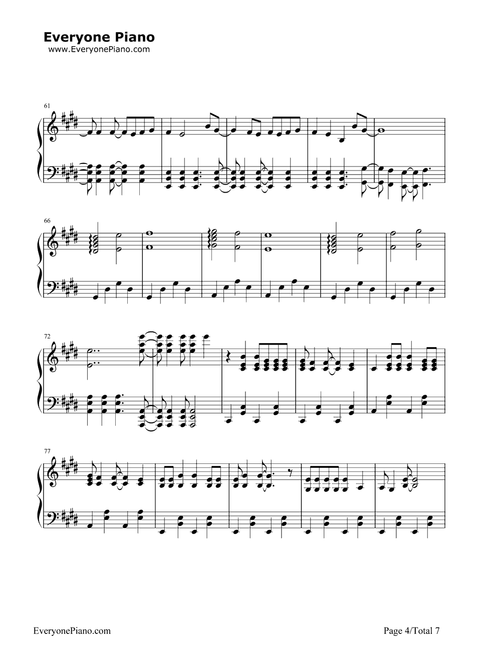 la devotee piano sheet music pdf