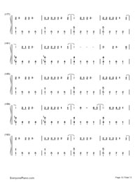 Up and Up-Coldplay-Numbered-Musical-Notation-Preview-10