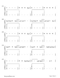 Up and Up-Coldplay-Numbered-Musical-Notation-Preview-2