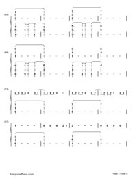 Up and Up-Coldplay-Numbered-Musical-Notation-Preview-4