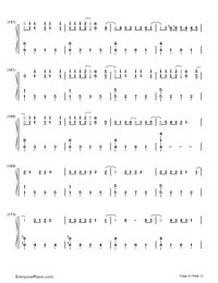 Up and Up-Coldplay-Numbered-Musical-Notation-Preview-9