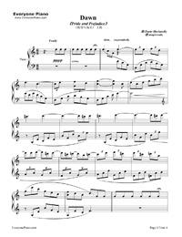 Dawn marianelli sheet music