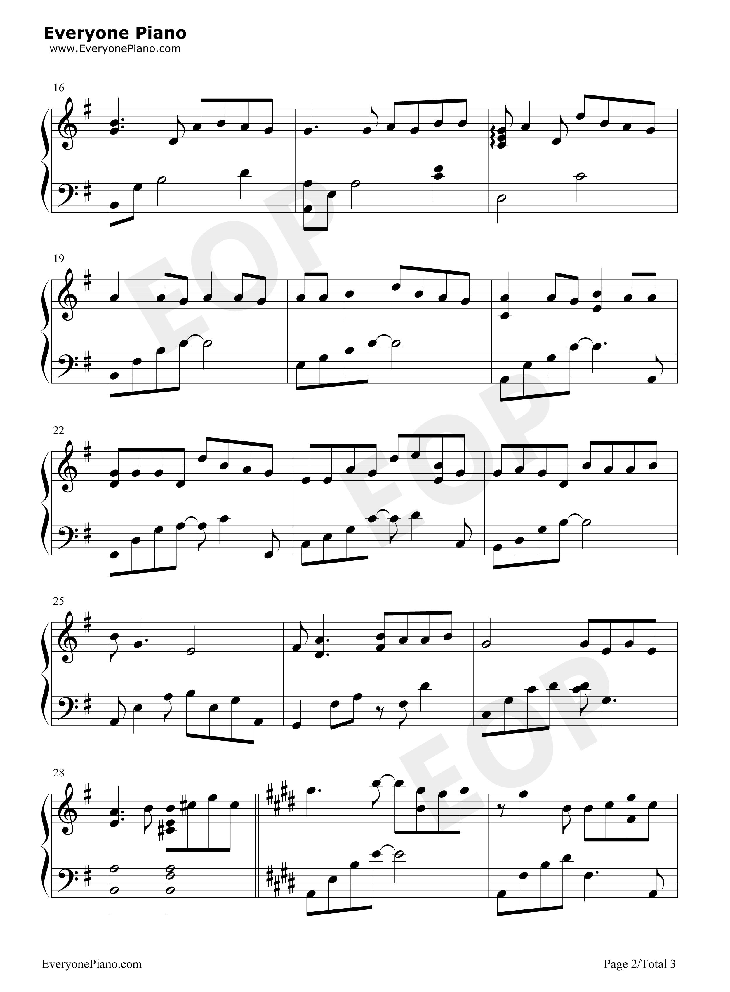 Bluestone Alley - Congfei Wei [Piano Tutorial] (Synthesia ...