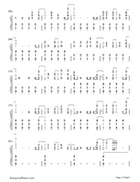 La La Land-Demi Lovato-Numbered-Musical-Notation-Preview-4