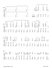 La La Land-Demi Lovato-Numbered-Musical-Notation-Preview-5