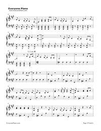 La La Land-Demi Lovato五線譜預覽2