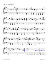 La La Land-Demi Lovato五線譜預覽4