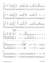 Get Back-Demi Lovato-Numbered-Musical-Notation-Preview-2