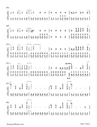 Get Back-Demi Lovato-Numbered-Musical-Notation-Preview-3