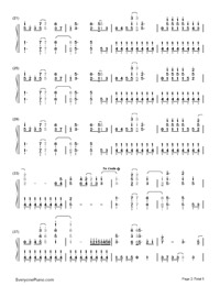 On the Line-Demi Lovato-Numbered-Musical-Notation-Preview-2