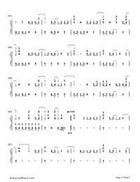 On the Line-Demi Lovato-Numbered-Musical-Notation-Preview-3