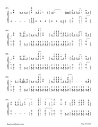 On the Line-Demi Lovato-Numbered-Musical-Notation-Preview-4
