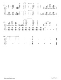 On the Line-Demi Lovato-Numbered-Musical-Notation-Preview-5