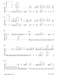 Gonna Get Caught-Demi Lovato-Numbered-Musical-Notation-Preview-2