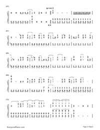 Gonna Get Caught-Demi Lovato-Numbered-Musical-Notation-Preview-4