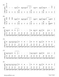 Don't Threaten Me with a Good Time-Panic at the Disco-Numbered-Musical-Notation-Preview-4