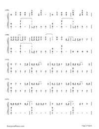 Don't Threaten Me with a Good Time-Panic at the Disco-Numbered-Musical-Notation-Preview-6