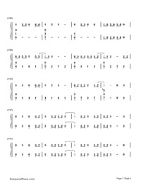Don't Threaten Me with a Good Time-Panic at the Disco-Numbered-Musical-Notation-Preview-7