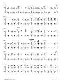 The Middle-Demi Lovato-Numbered-Musical-Notation-Preview-2