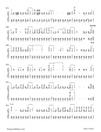 The Middle-Demi Lovato-Numbered-Musical-Notation-Preview-3