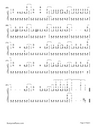 The Middle-Demi Lovato-Numbered-Musical-Notation-Preview-4