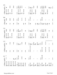 Until You're Mine-Demi Lovato-Numbered-Musical-Notation-Preview-4