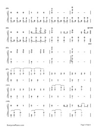 Until You're Mine-Demi Lovato-Numbered-Musical-Notation-Preview-5